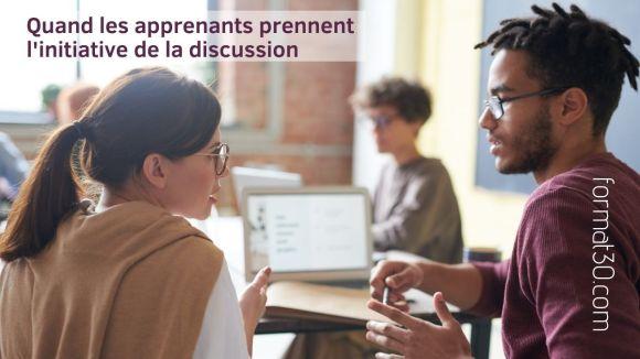 Progression pédagogique - les apprenants prennent des initiatives