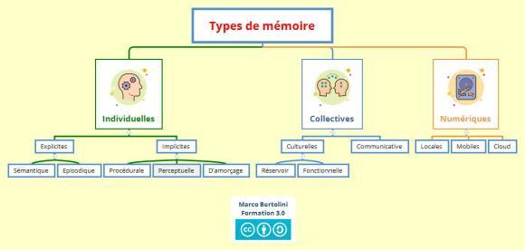 Différents types de mémoire