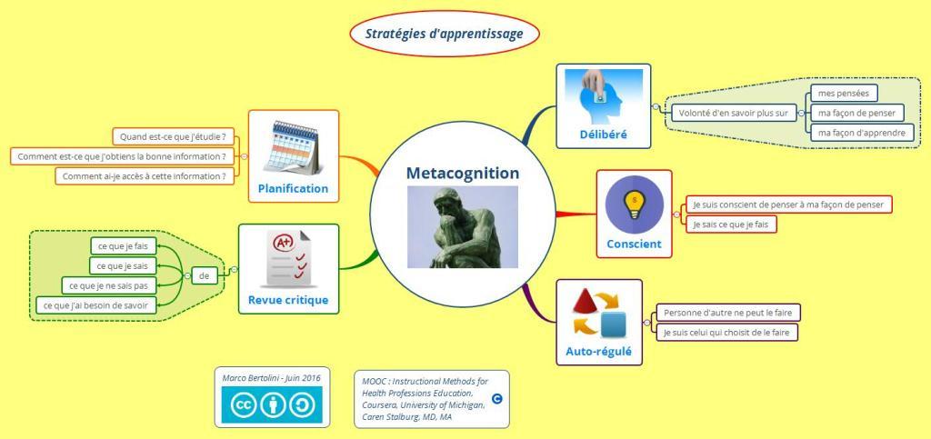 Apprendre à apprendre - la métacognition ou la réflexion sur sa façon d'apprendre