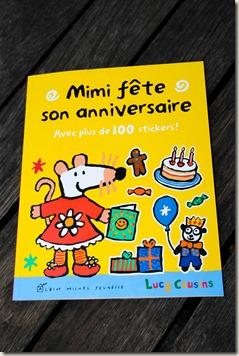 Mimi fete son anniversaire Lucy Cousins Albin Michel Jeunesse