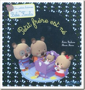 Petit frere est ne Koala hachette jeunesse livre