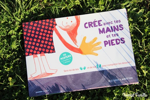 Crée avec tes mains et tes pieds mango jeunesse
