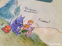 livre enfant chien guide aveugle