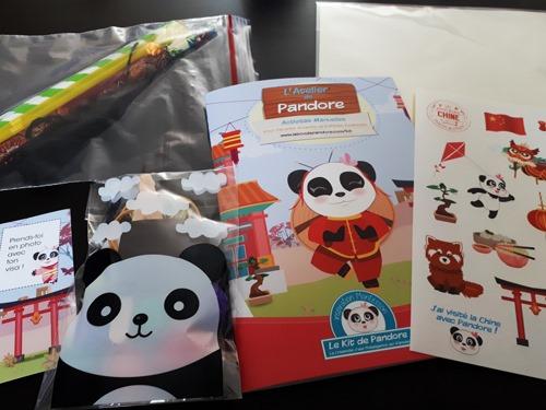 kit de pandore activités pour enfants