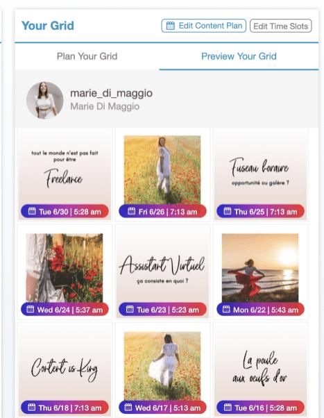 Planifier une publication sur Instagram