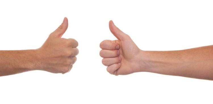 thumb up pouce en forme formation dj stan k blog