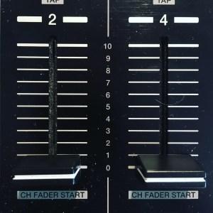 fader volume pioneer ddj formation dj table de mixage dj