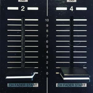 fader volume pioneer ddj formation dj table de mixage dj