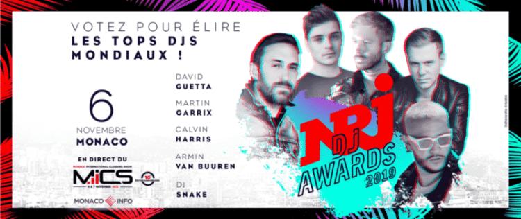 NRJ DJ AWARDS 2019