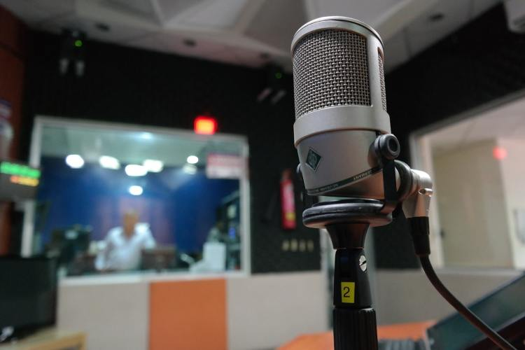 Microphone Radio On Air