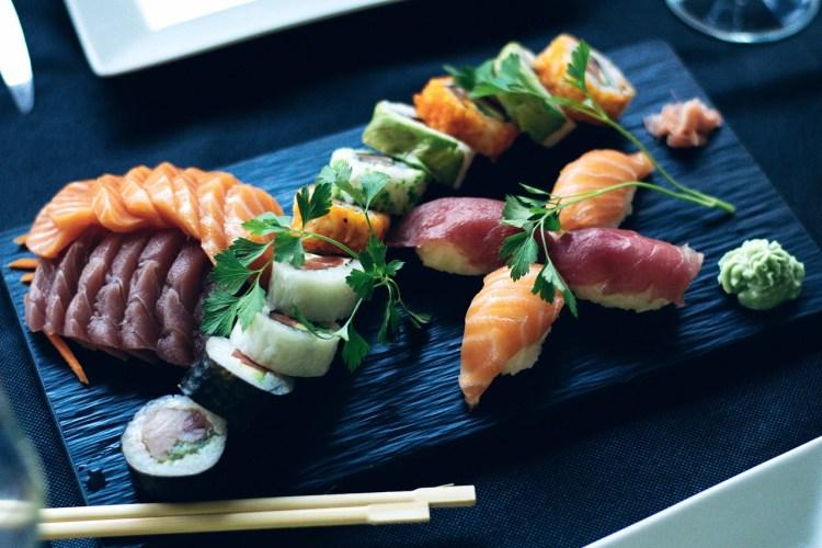 Sushi repas