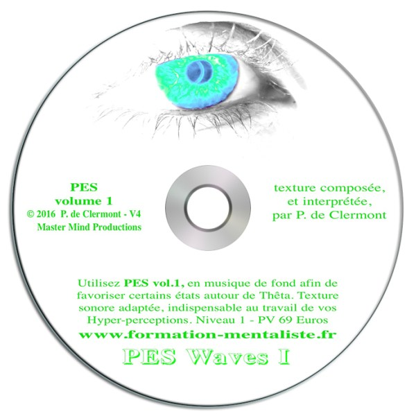 Mentalisme Pascal de Clermont CD Mind Waves 6 PES 1 visuel