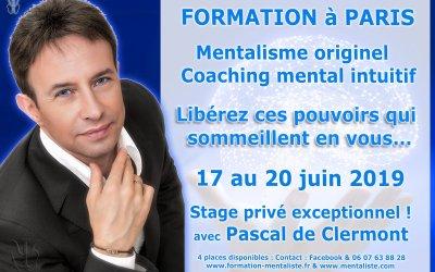 3 jours de stage privé avec Pascal de Clermont du 17 au 20 juin 2019