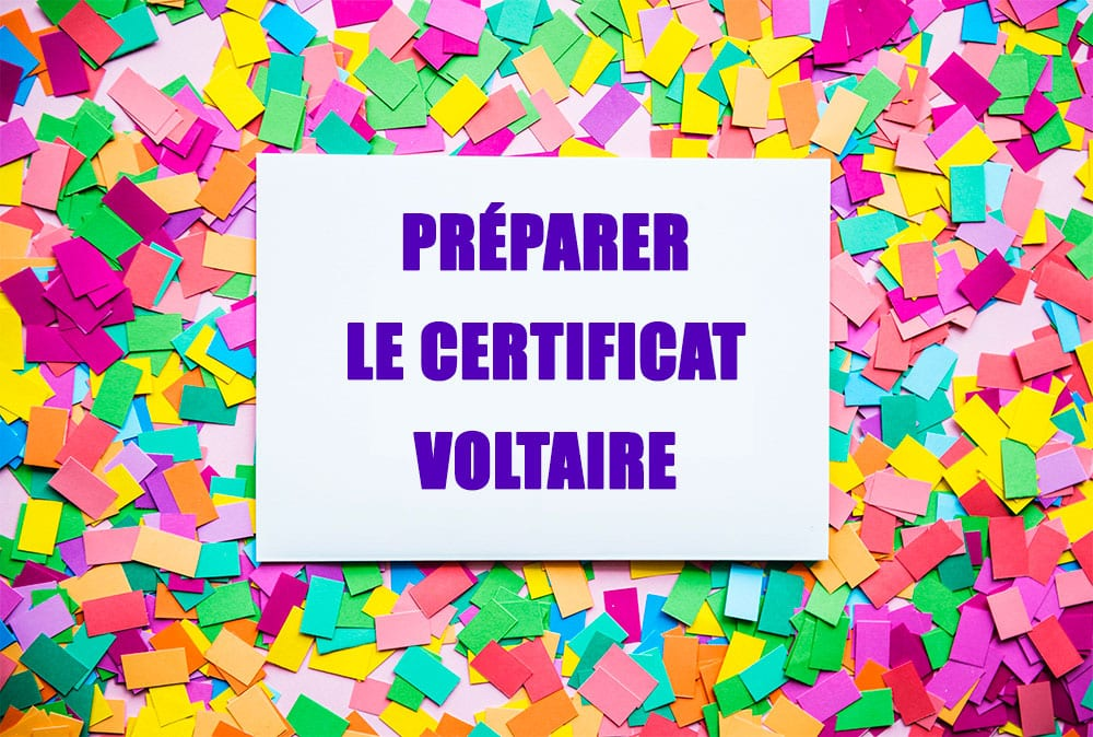 Préparer le Certificat Voltaire : 6 étapes pour réussir