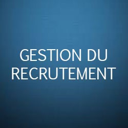 Formation gestion des recrutements