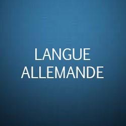 apprentissage de la langue allemande