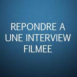 Formation Répondre à une interview filmée
