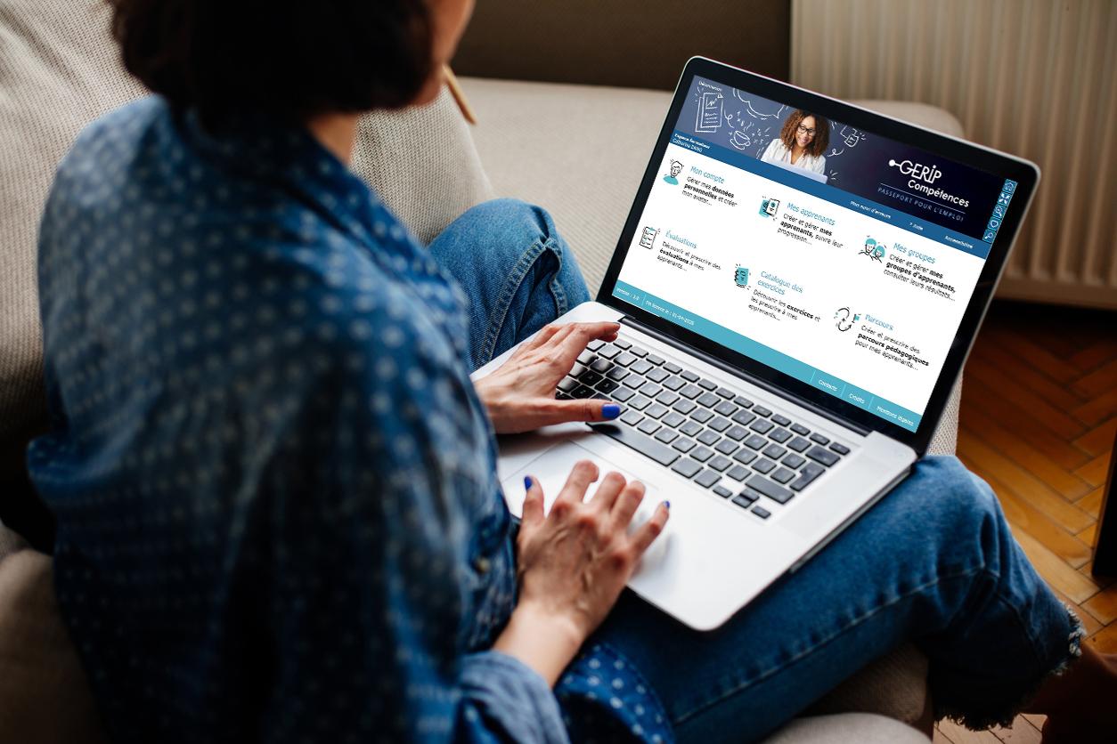 Formation à distance CléA en ligne Gerip Compétences