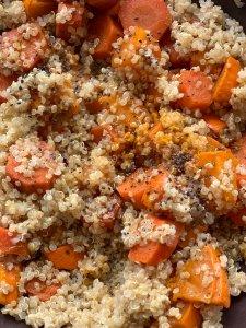 quinoa et courge : recette d'automne