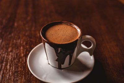 Chocolat chaud pour un goûter réconfortant