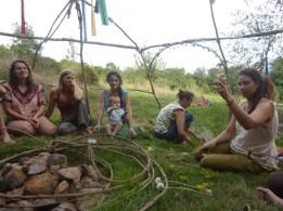 Atelier chants sacrés lors des premières rencontres InterFÈVE en septembre 2013