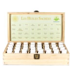 coffret Gaïarôme des 32 huiles sacrées