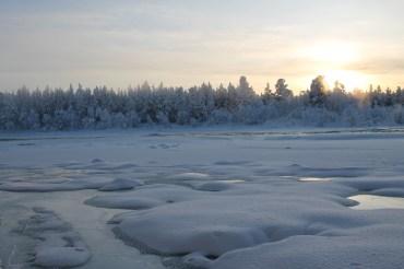Kiruna, Svezia, Gennaio 2013