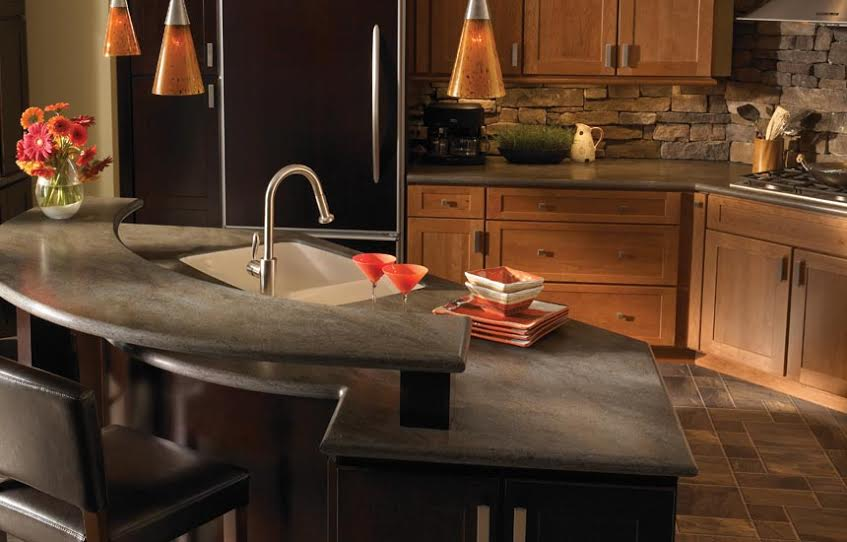 affordable kitchen countertops utensils set solid surface san jose santa cruz rosa ...