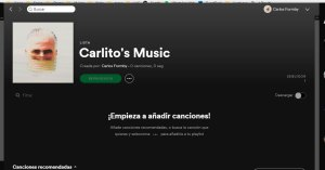 Spotify Pantalla - 2