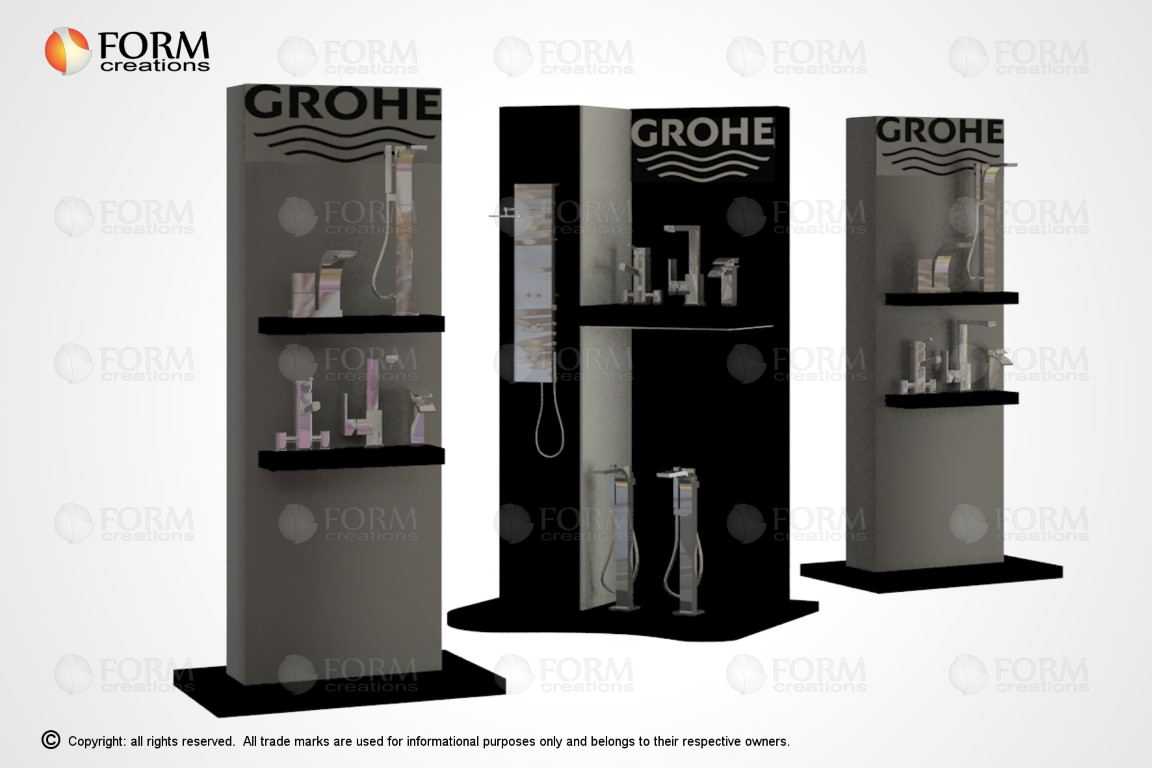 Promotional display racks and shelving  FormCreations