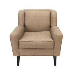 Recliner Chair Hire Brown Leather Modern Lounge Rentals Event Furniture Rental