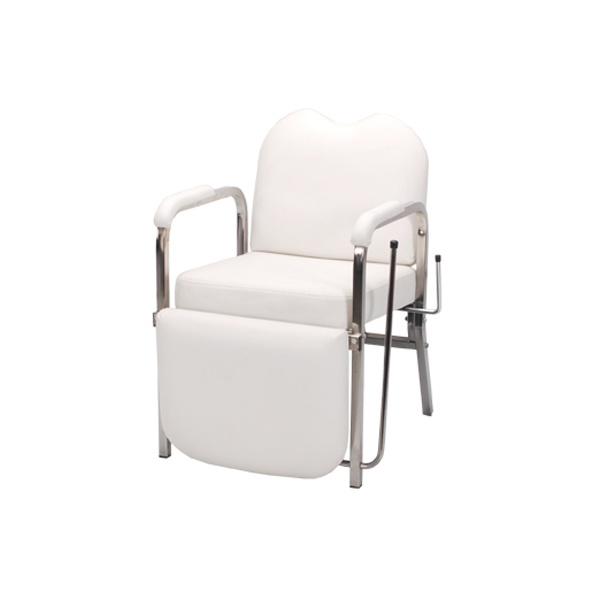 Salon Shampoo Chair White  FormDecor