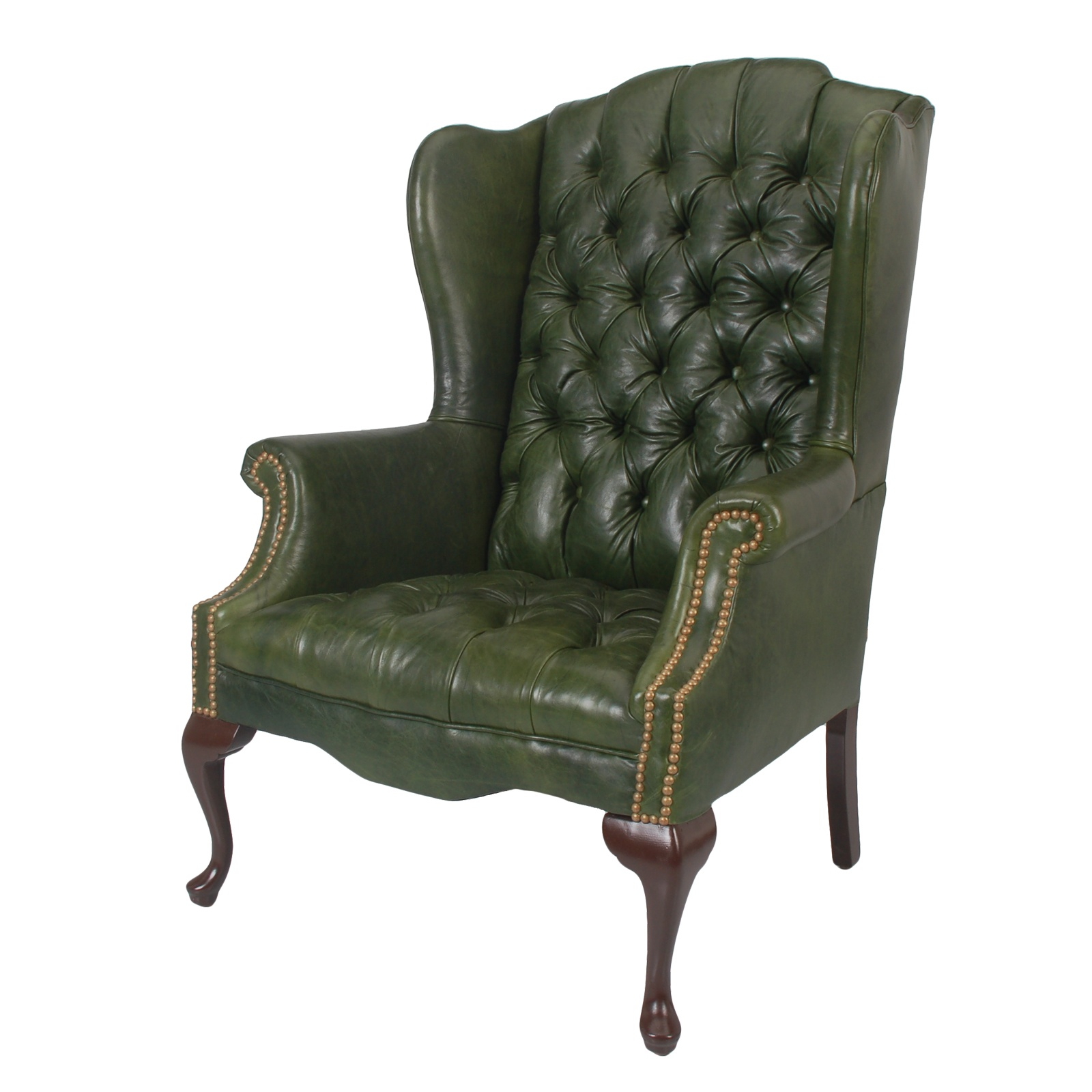 Leather Wing Back Chair Leather Wingback Chair Rental Event Furniture Rental