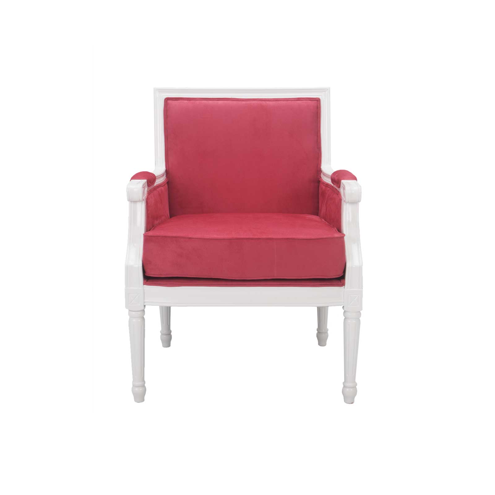 pink club chair metal dining chairs target louie vl lounge formdecor