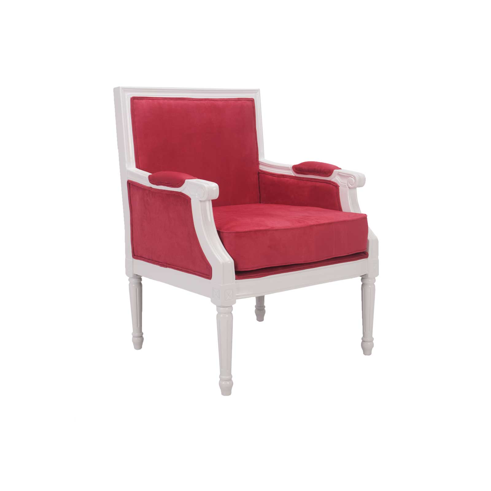 pink club chair outdoor recliner cushions louie vl lounge formdecor