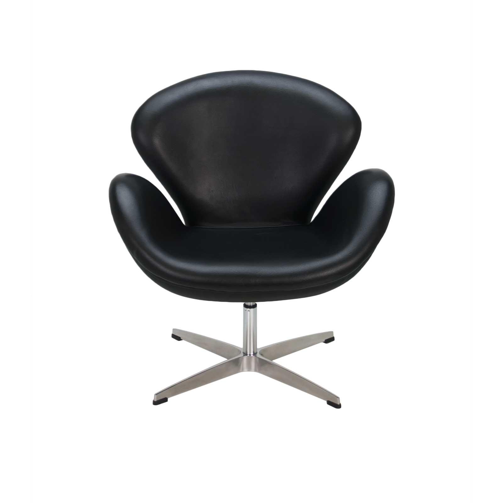 arne jacobsen swan chair baby swing youtube black formdecor