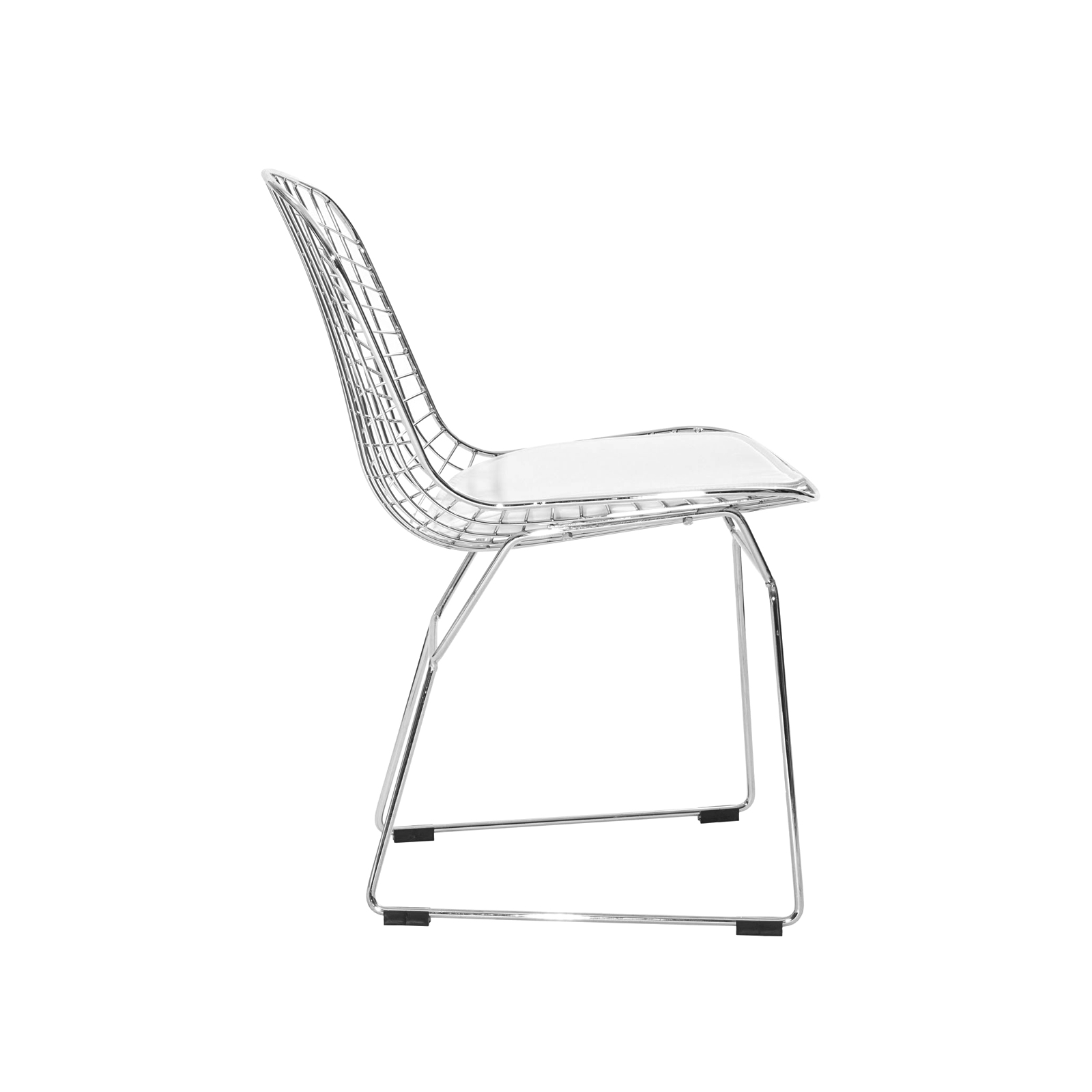 white bertoia side chair folding table with storage for chairs rentals event furniture rental