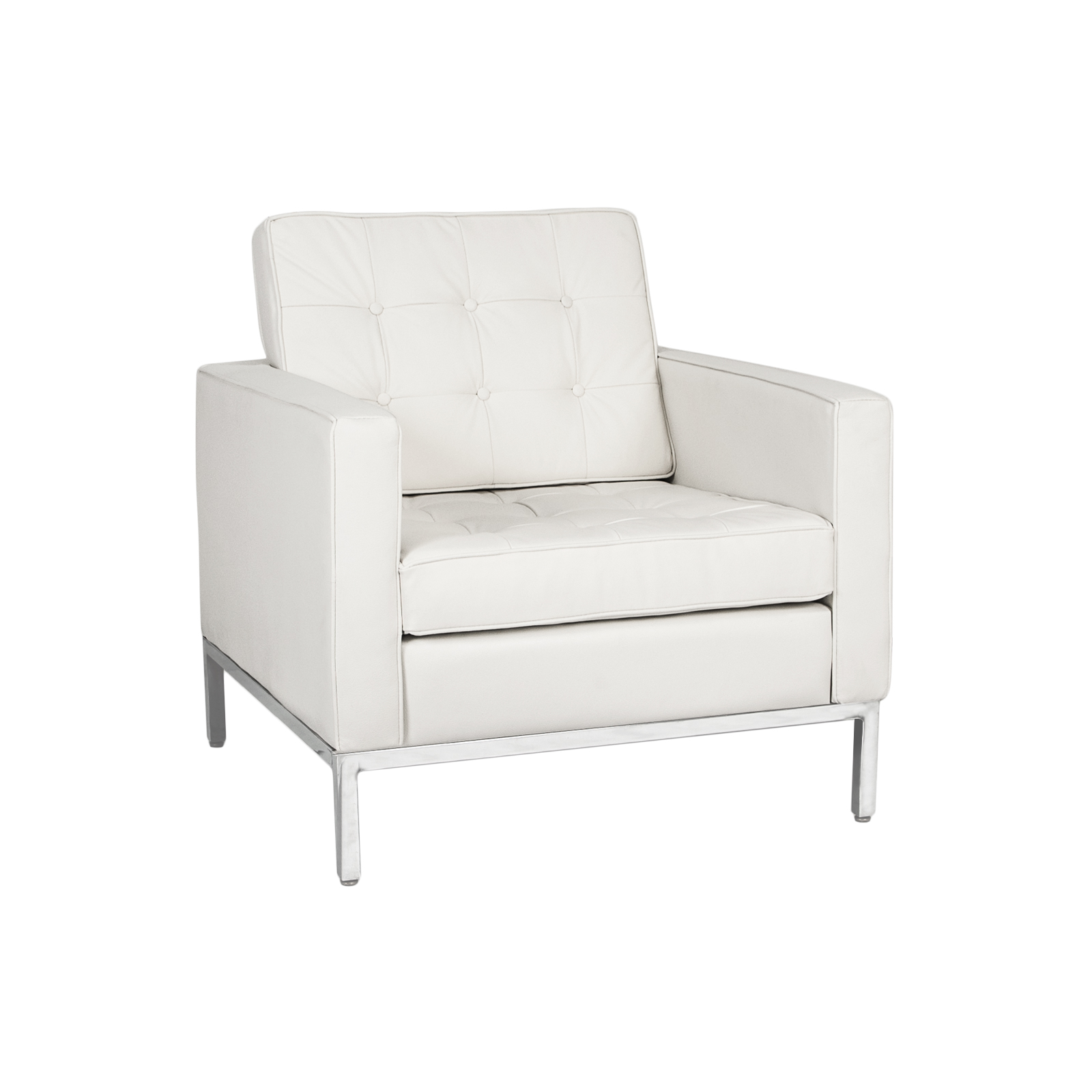White Club Chair Set Furniture Rental Television And Film Formdecor Rhobh