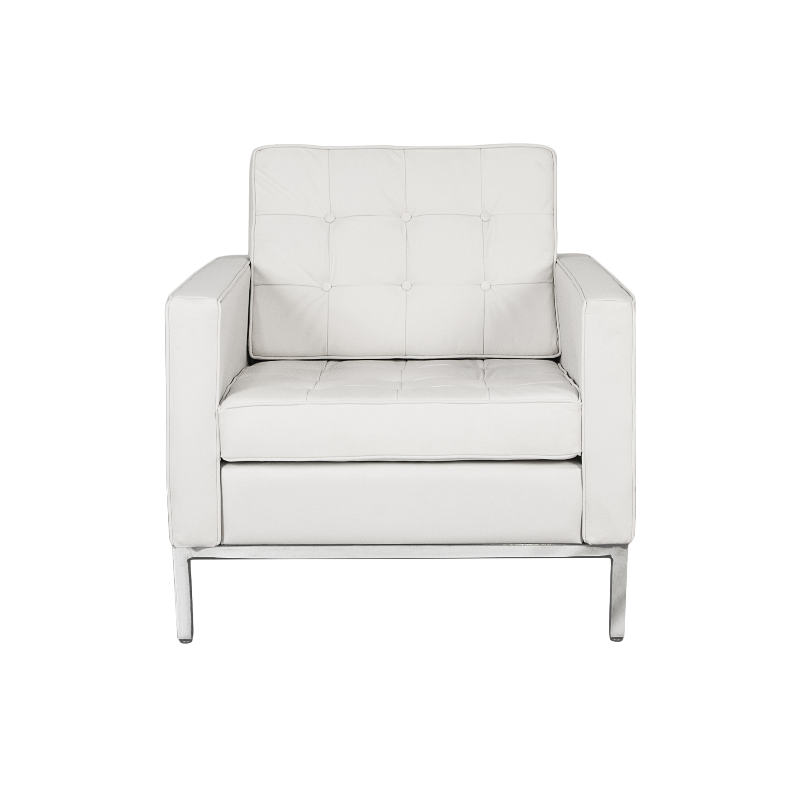 White Club Chair Florence Knoll Lounge Chair Rentals Event Furniture