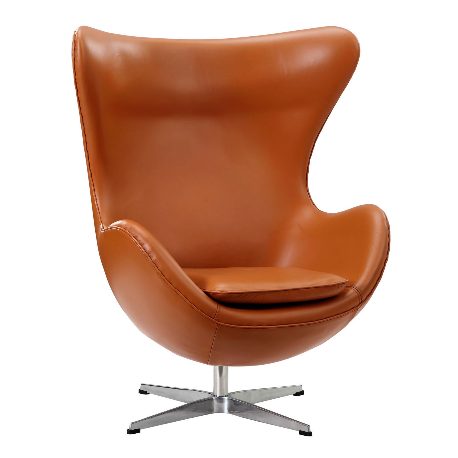 Brown Leather Egg Chair Leather Arne Jacobsen Egg Chair Rentals Event Furniture