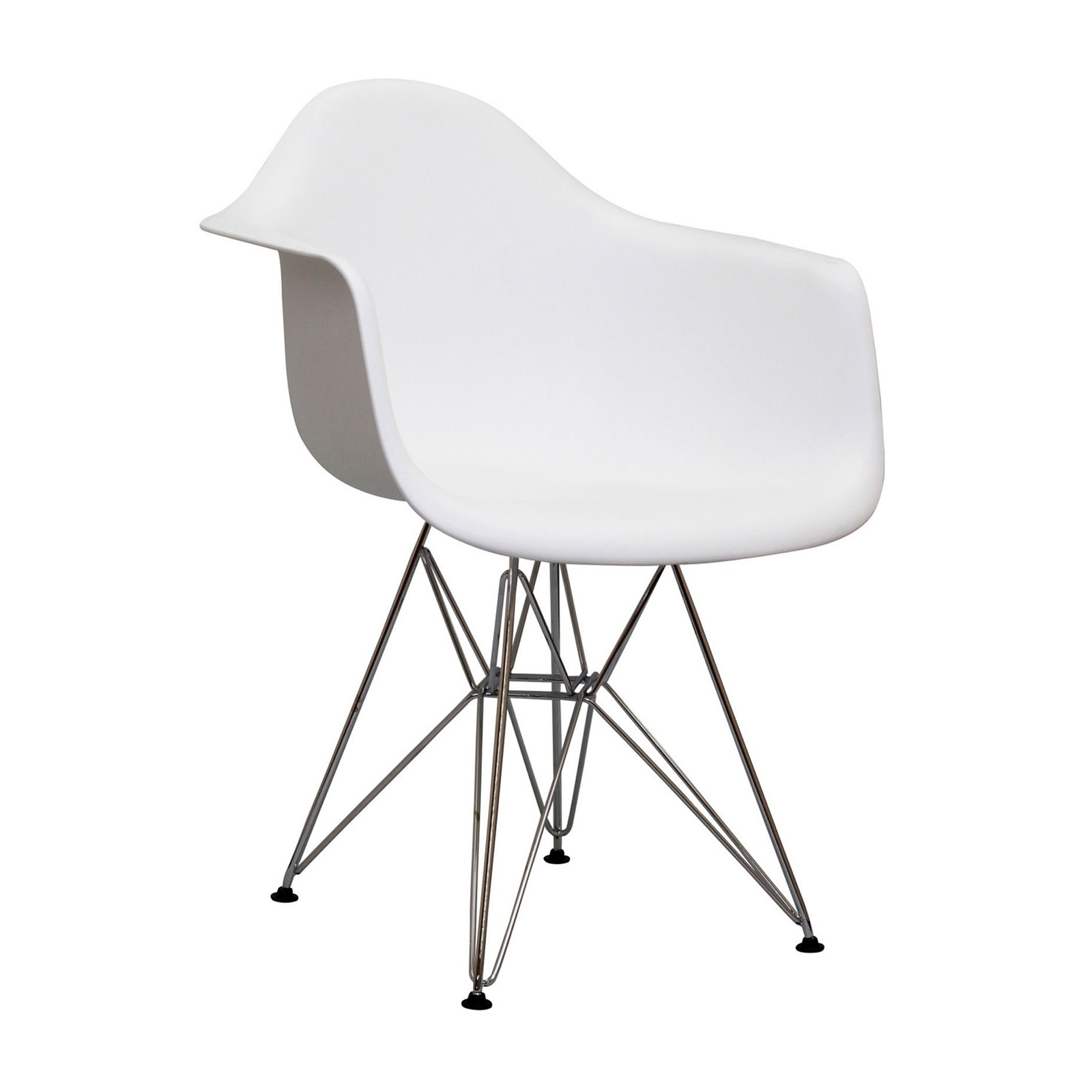 eames chair white desk neck pillow armshell rental event furniture