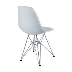 White Chair Rentals Leather Modernist Eames Side Event Furniture Rental
