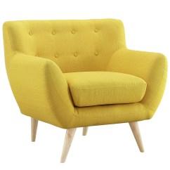 Yellow Club Chair Office Adjustable Armrest Dane Lounge Rentals Event Furniture Rental