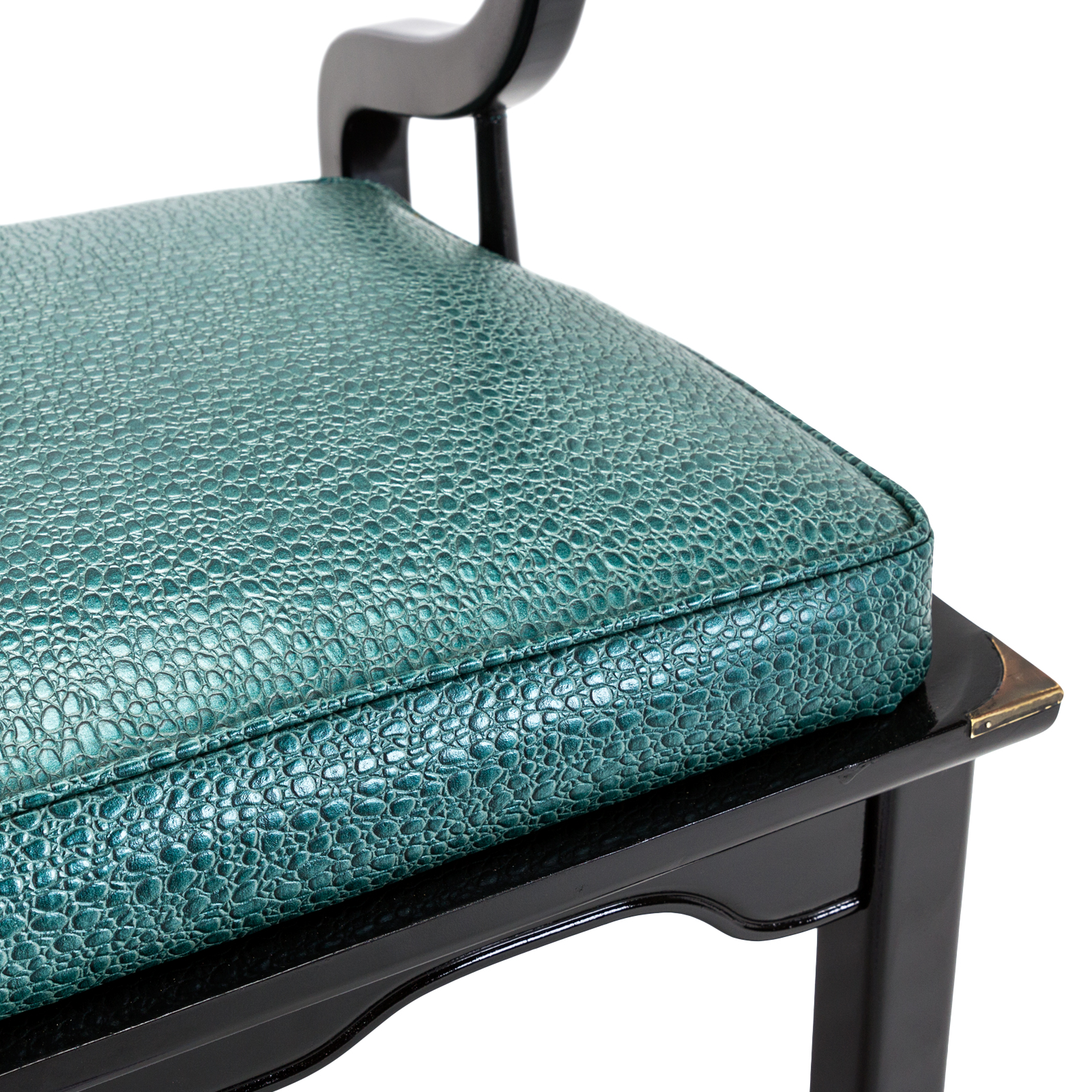teal lounge chair cheap wooden chairs horseshoe rentals event furniture rental