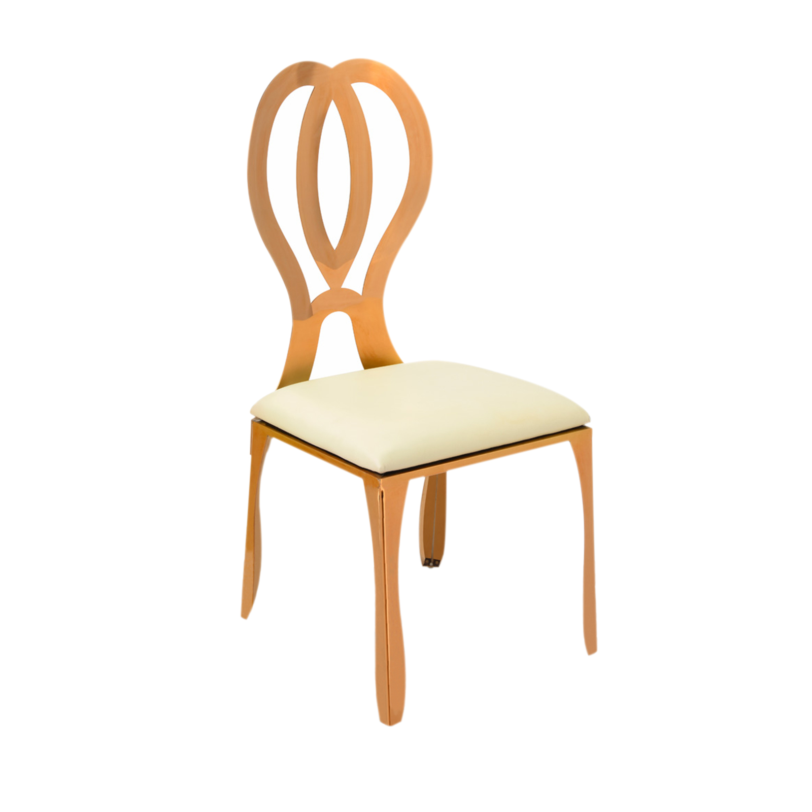 Gold Chair Rental Infinity Dining Chair Event Trade Show Furniture Rental