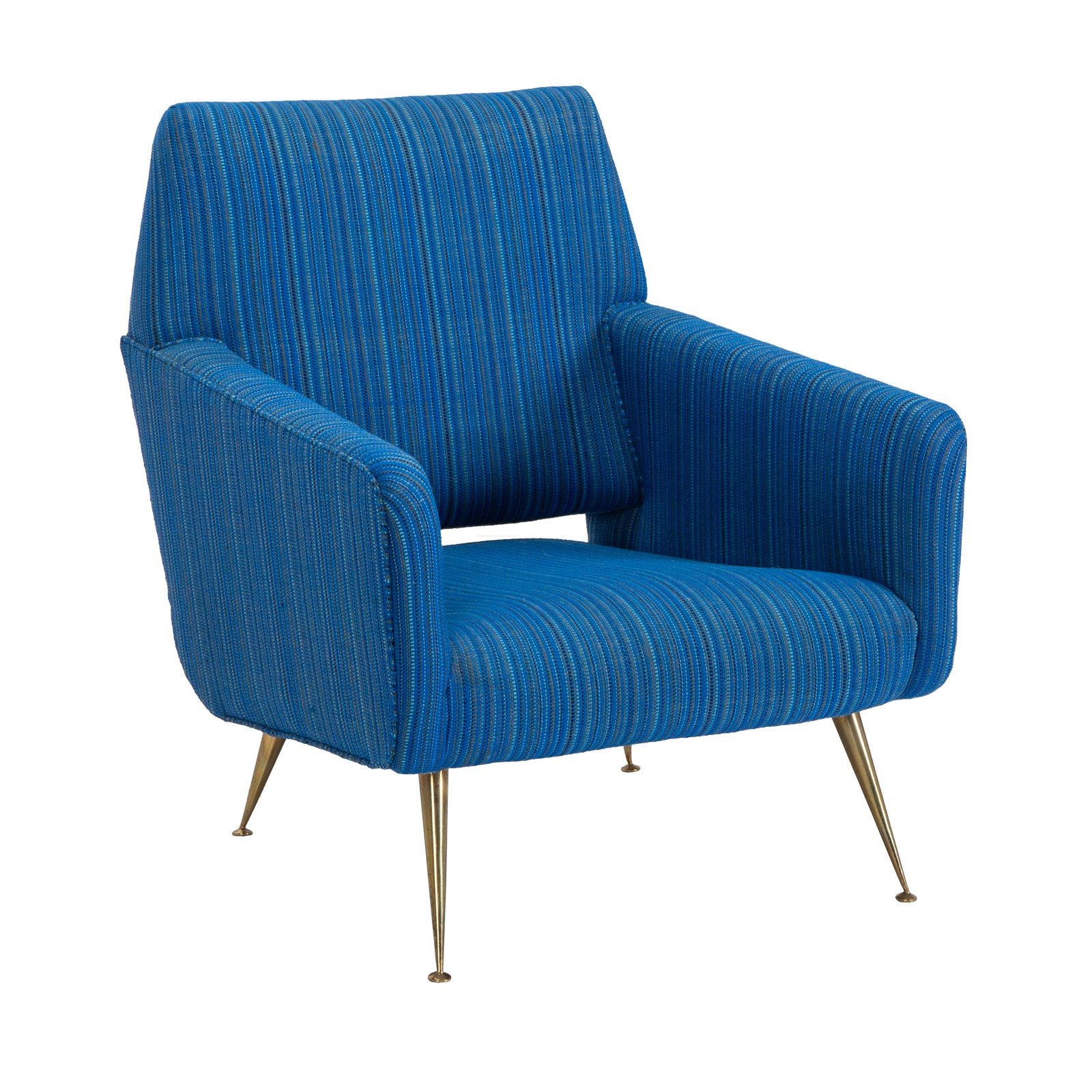 Gio Ponti Style Lounge Chair His  Event Trade Show