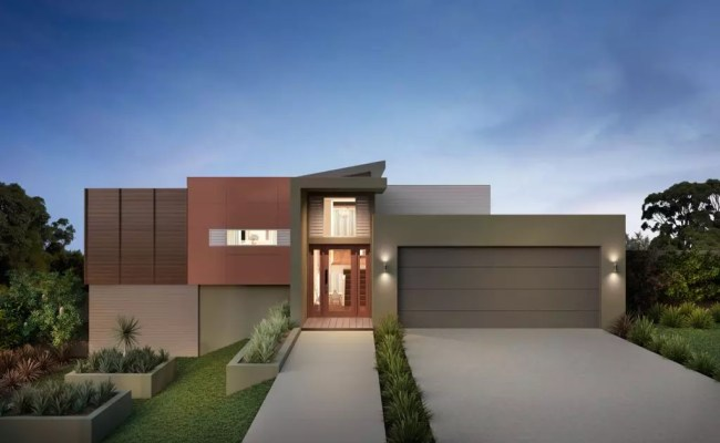 Sloping Block House Designs In Melbourne Forme Homes