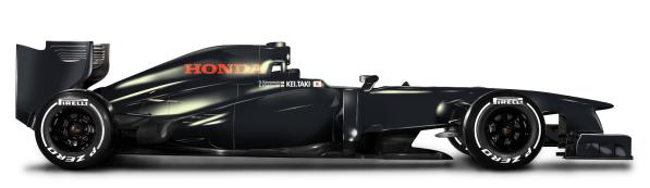 Svart F1 bil
