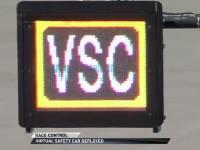 Virtuell säkerhetsbils skylt