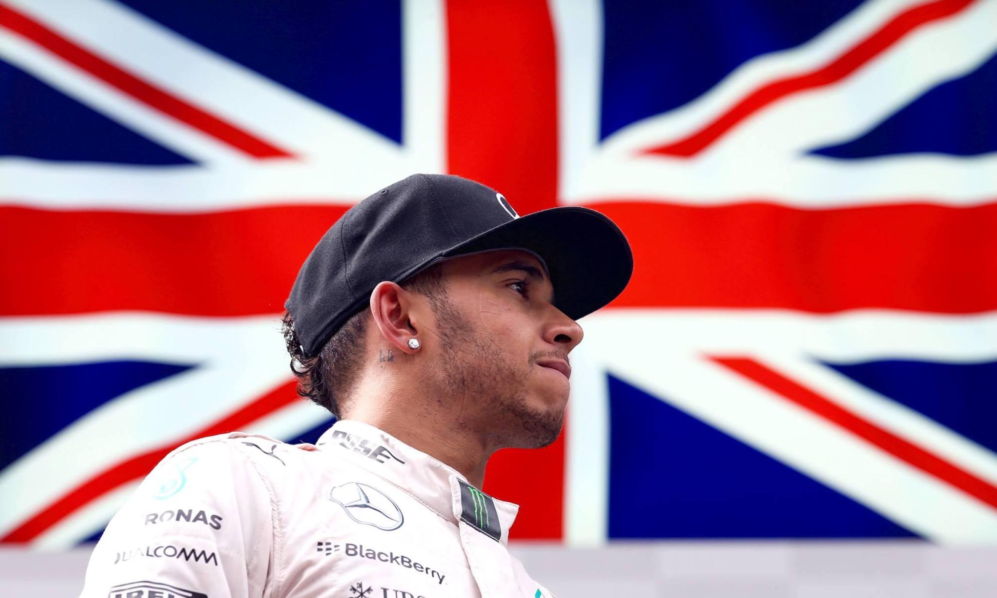 Lewis Hamilton, Union Jack